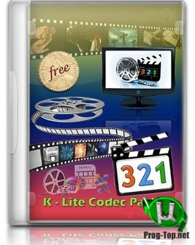 Медиакодеки - K-Lite Codec Pack 15.7.5 Mega/Full/Standard/Basic + Update