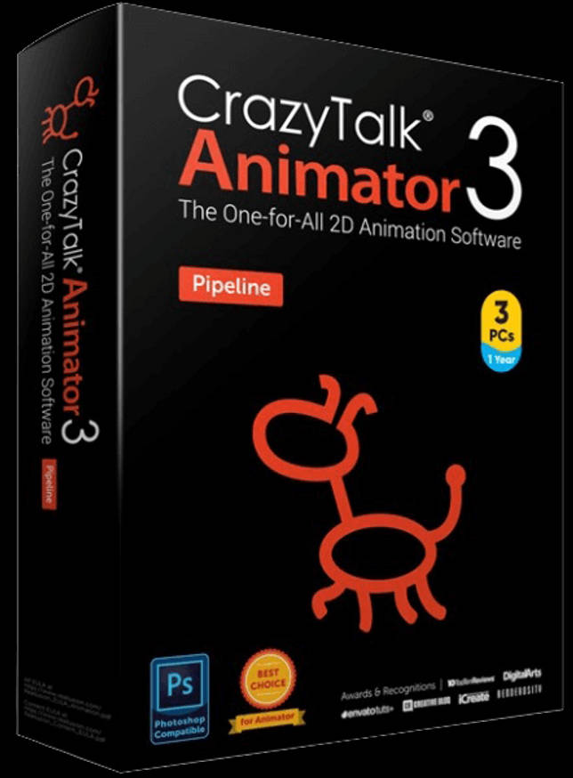 Reallusion CrazyTalk Animator 3.31.3514.2 Pipeline + Resource Pack